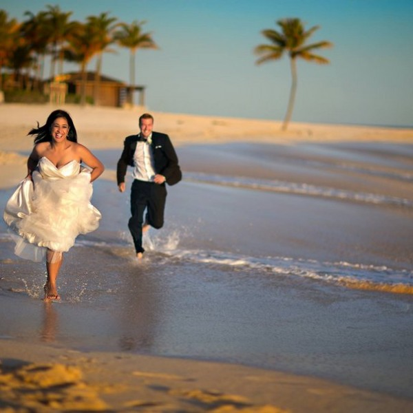 Tengerparti Esküvő - Esküvő Miamiban az Óceán Partján