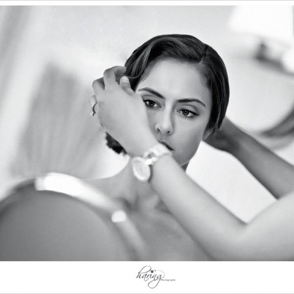 Sarah Getting Ready - Hilton Key Largo Resort
