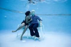 Lisa + Brian - Underwater Engagement Photo Session II