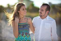Hristo + Emiliya - Beach Engagement Photos - Florida Wedding Photographer