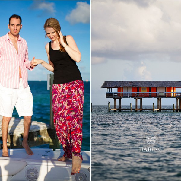 Key Biscayne, Florida Engagements| Stiltsville - Sean + Cristiana