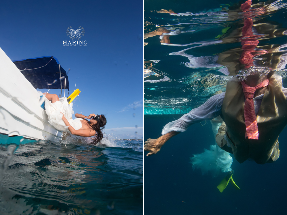 mexico underwater trash the dress