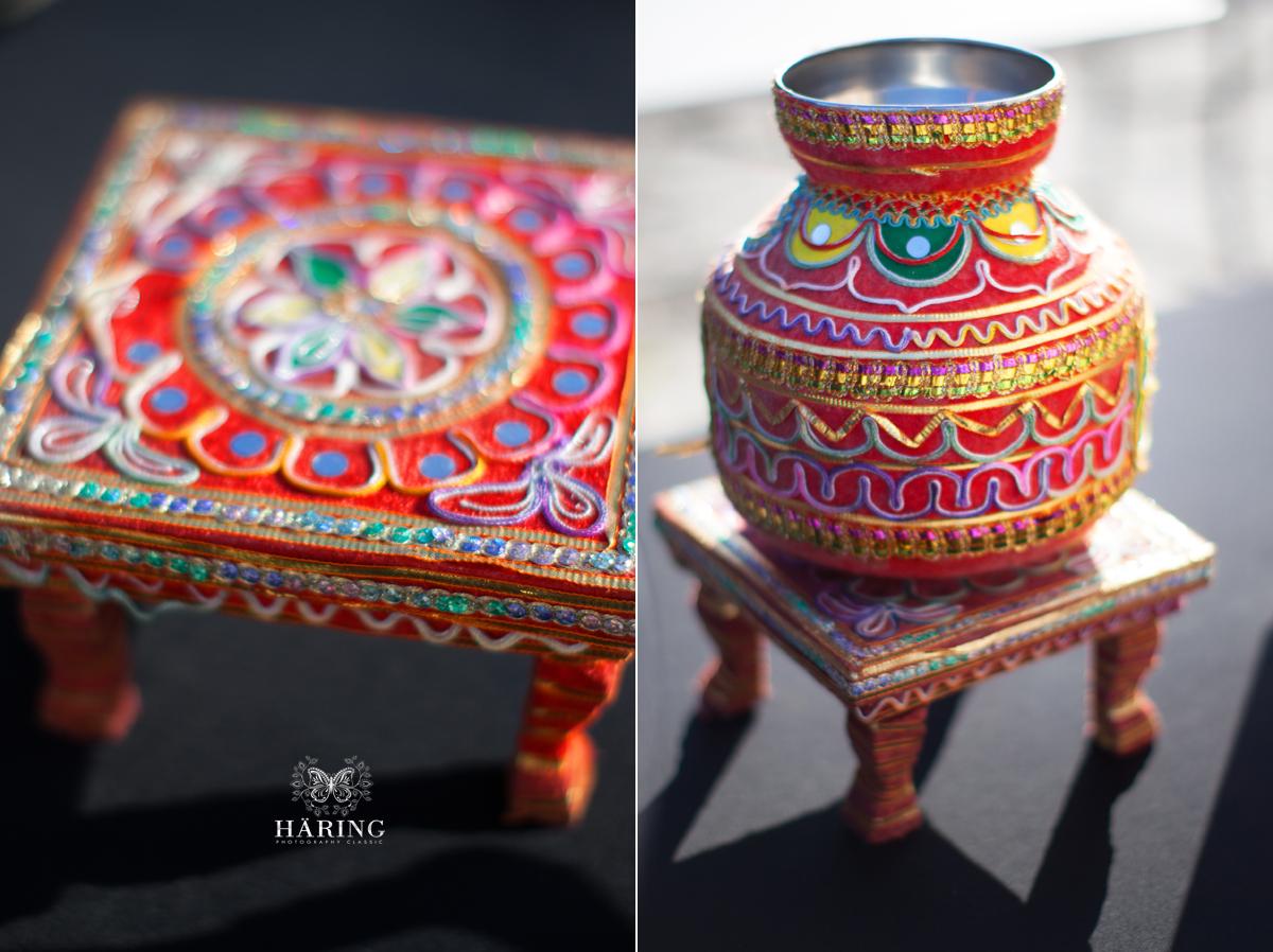 Indian wedding details at Viscaya