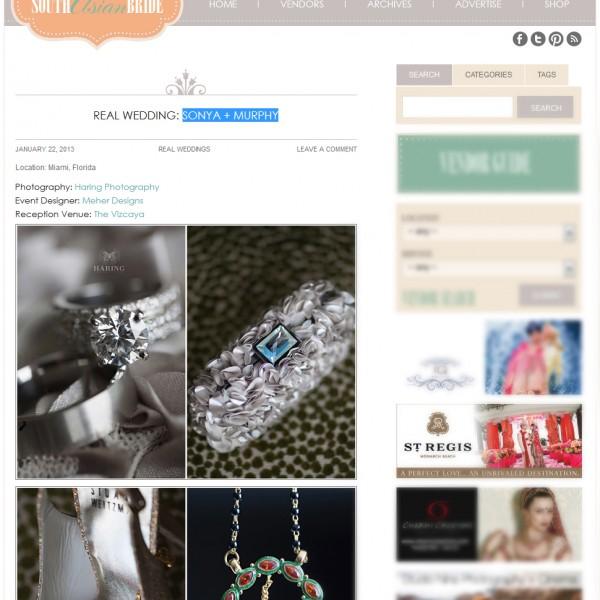 Vizcaya Museum & Gardens Wedding | South Asian Bride Magazine