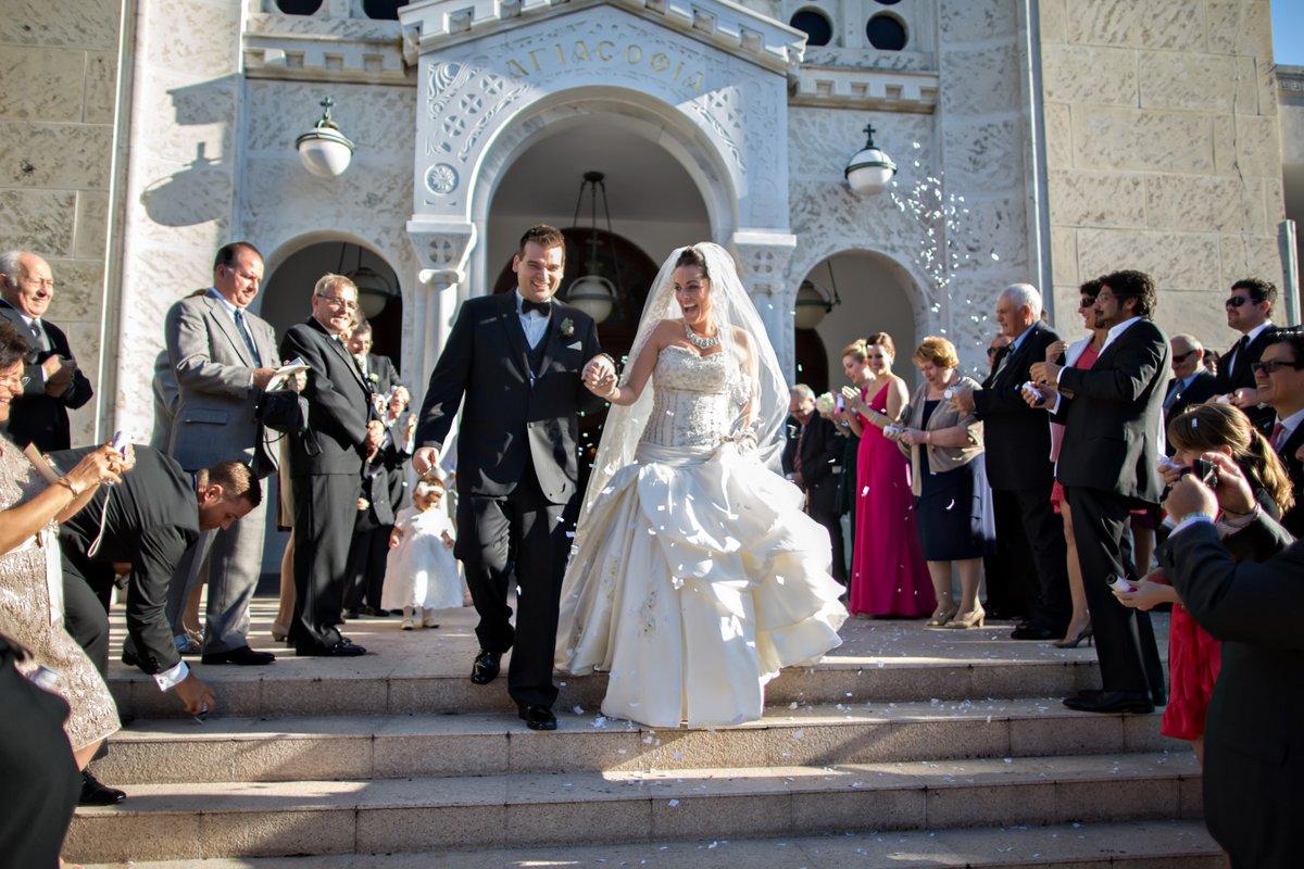 miami greek wedding ceremony