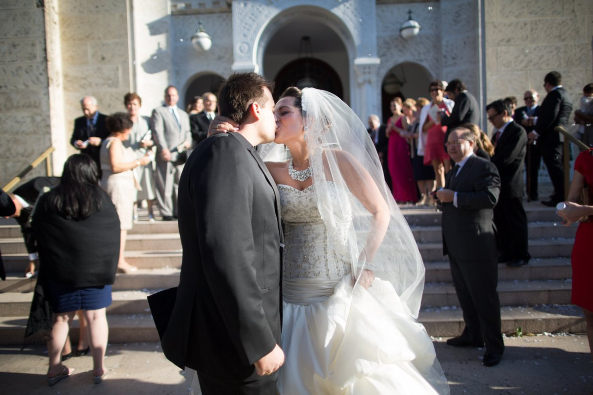 miami greek wedding ceremony photos
