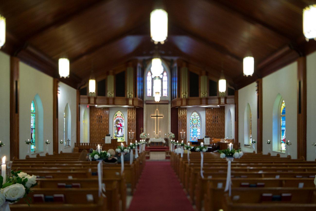 wedding pictures Key West United Methodist Church
