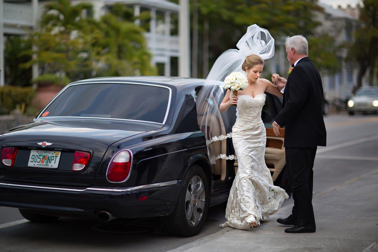 wedding photos Key West United Methodist Church