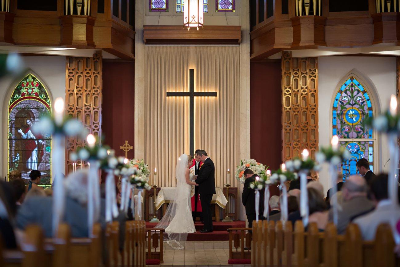 wedding at Key West United Methodist Church