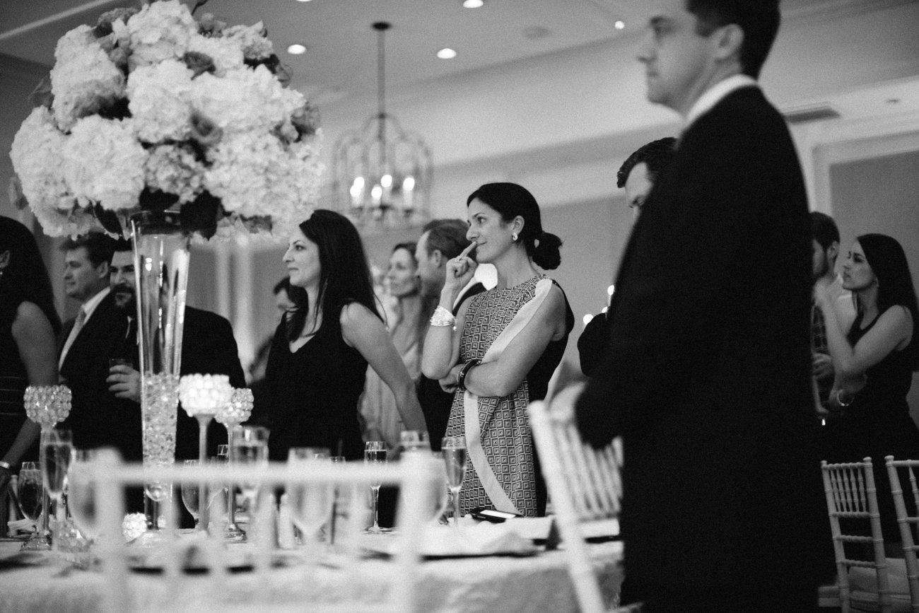 Marriott Beachside Resort wedding reception photos