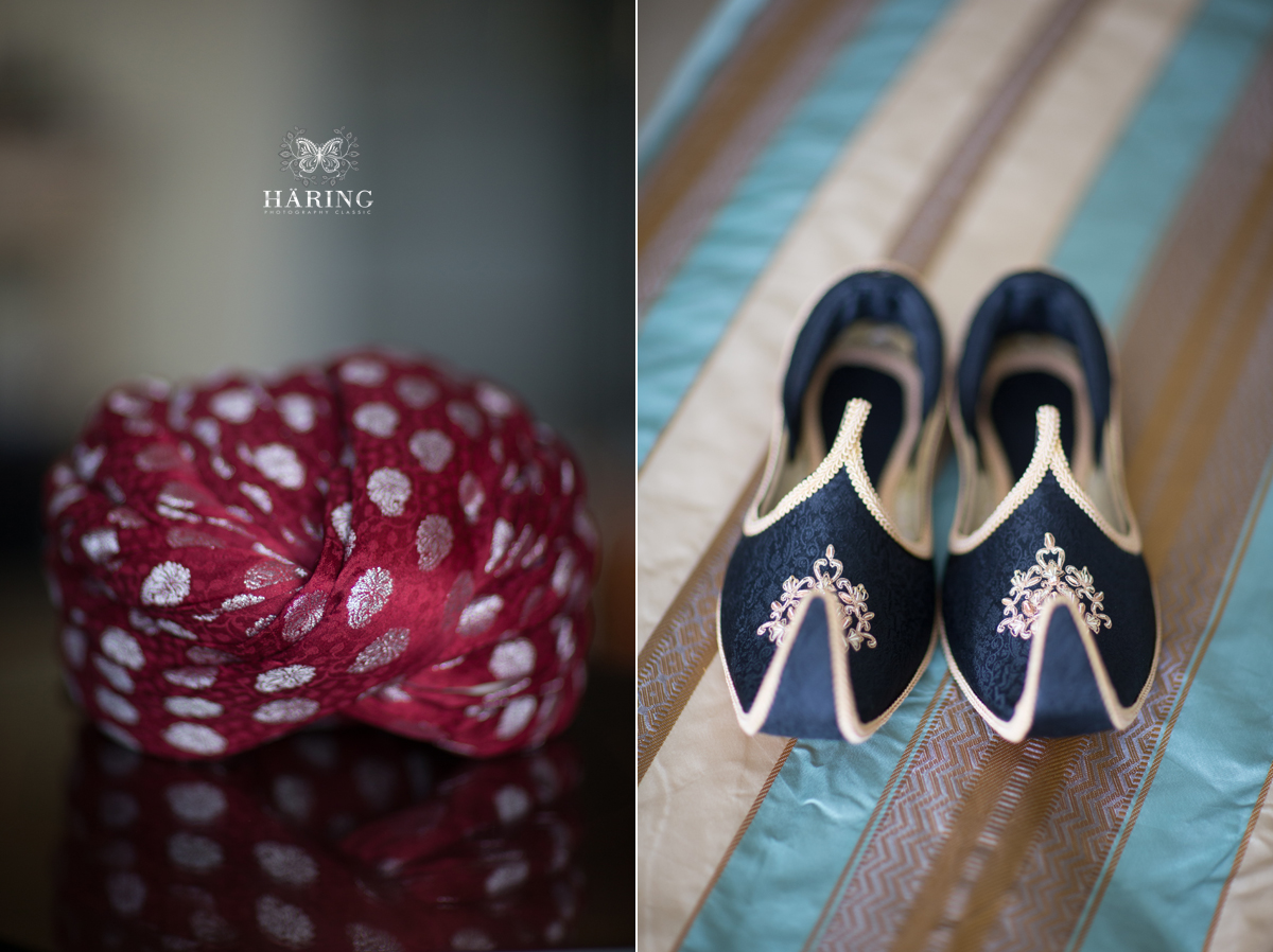 Pakistani wedding groom shoes