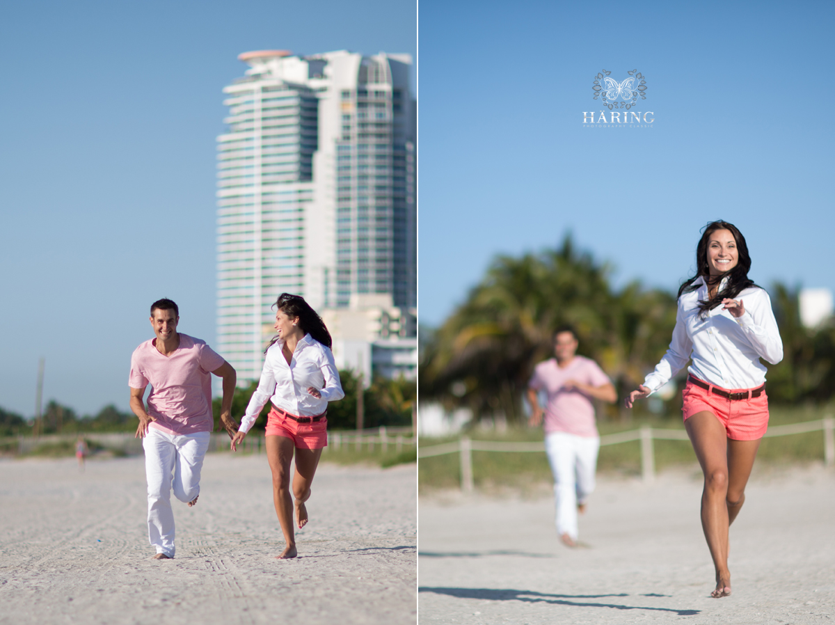 save the date engagement photos session miami