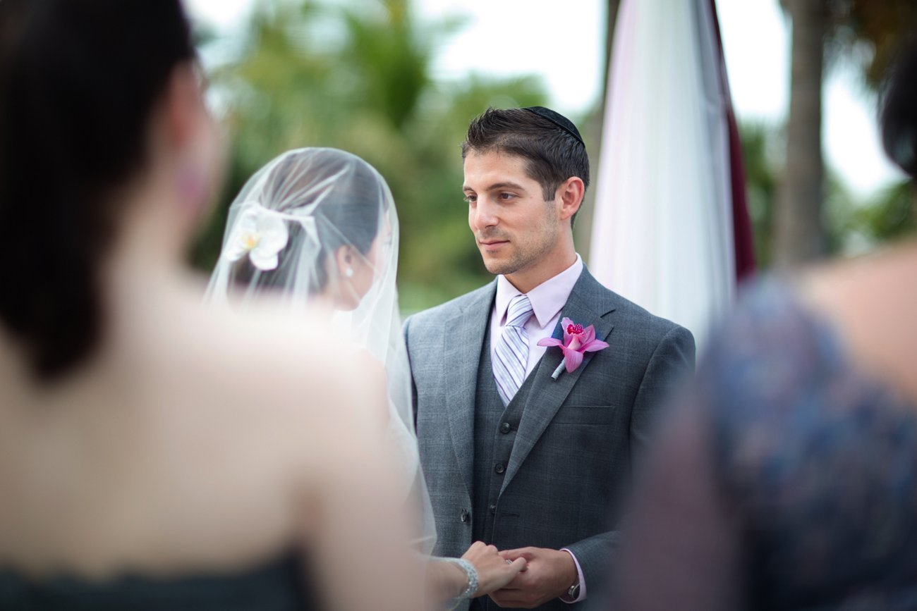 miami florida jewish wedding photos