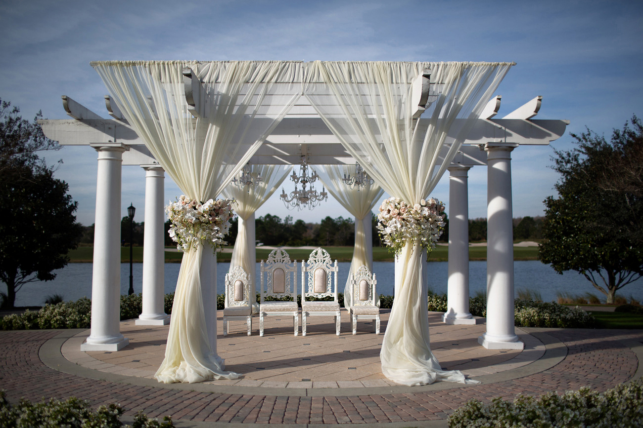 wedding pictures decoration orlando ritz carlton grande lakes