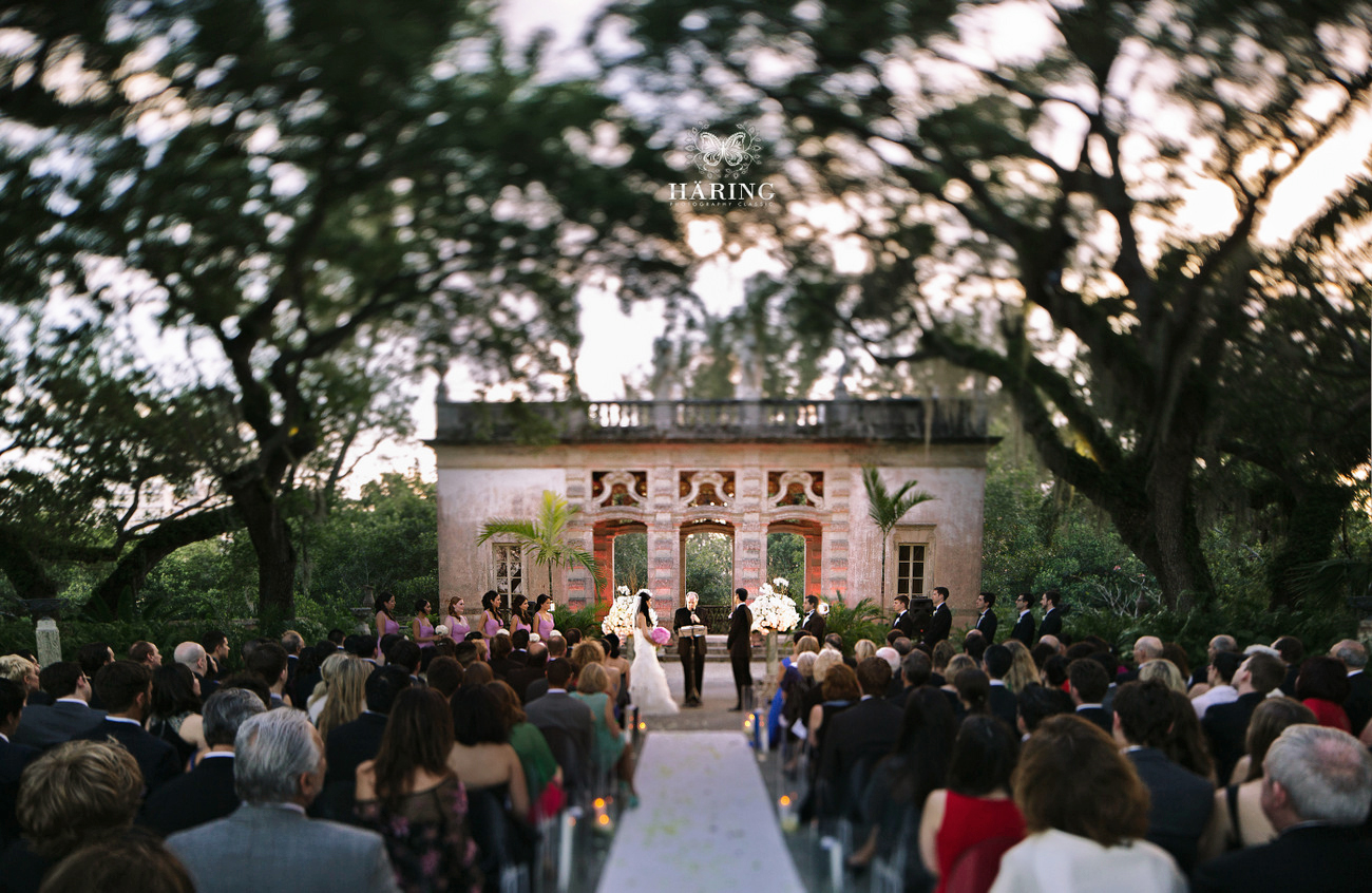 vizcaya museum and garden wedding pictures