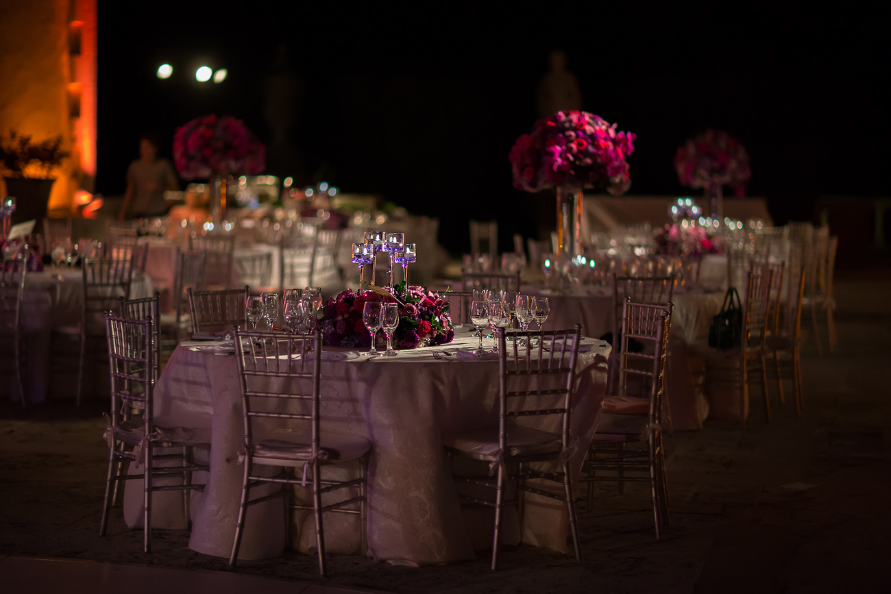 vizcaya wedding decoration