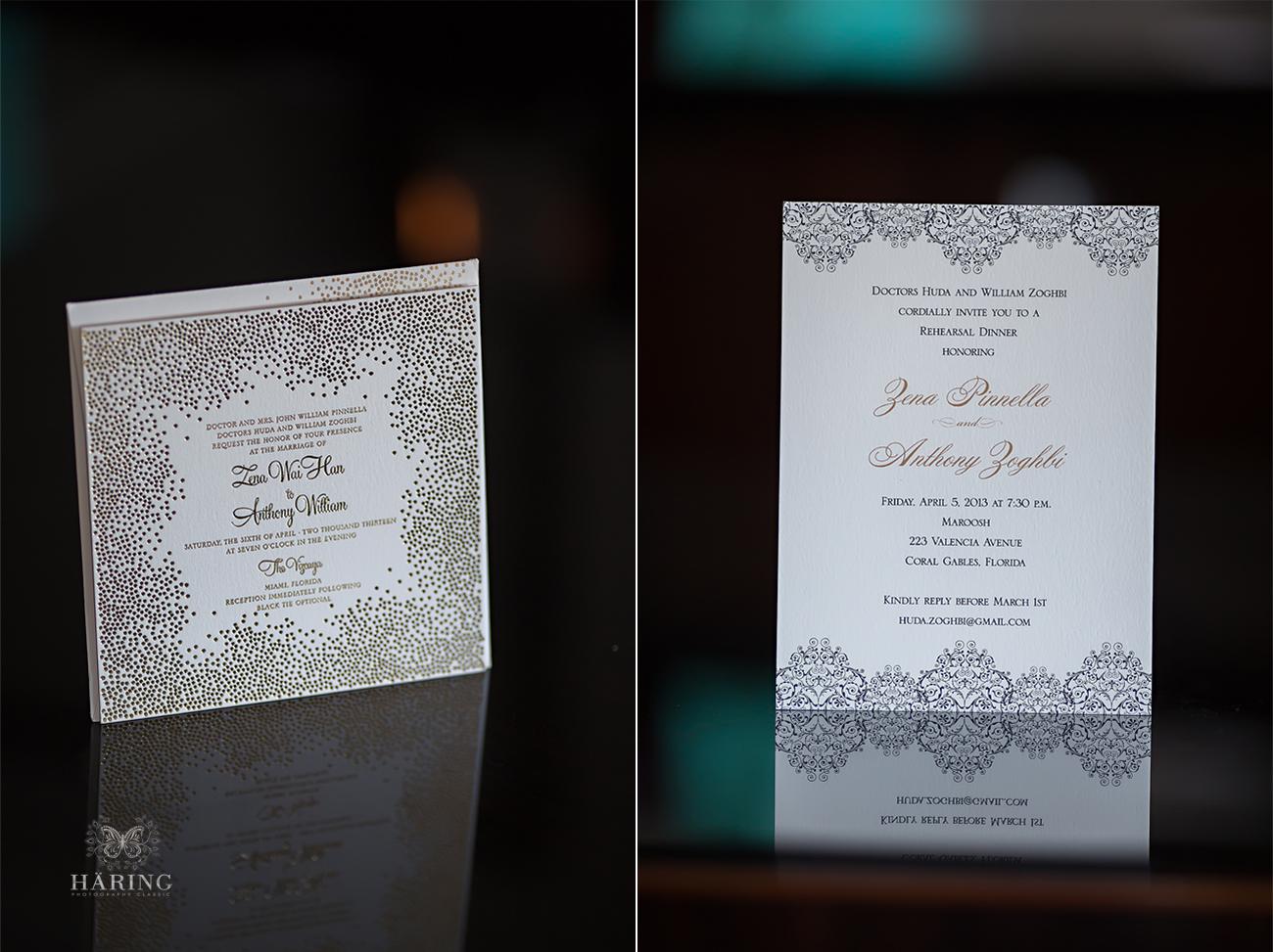 miami wedding invitation photos