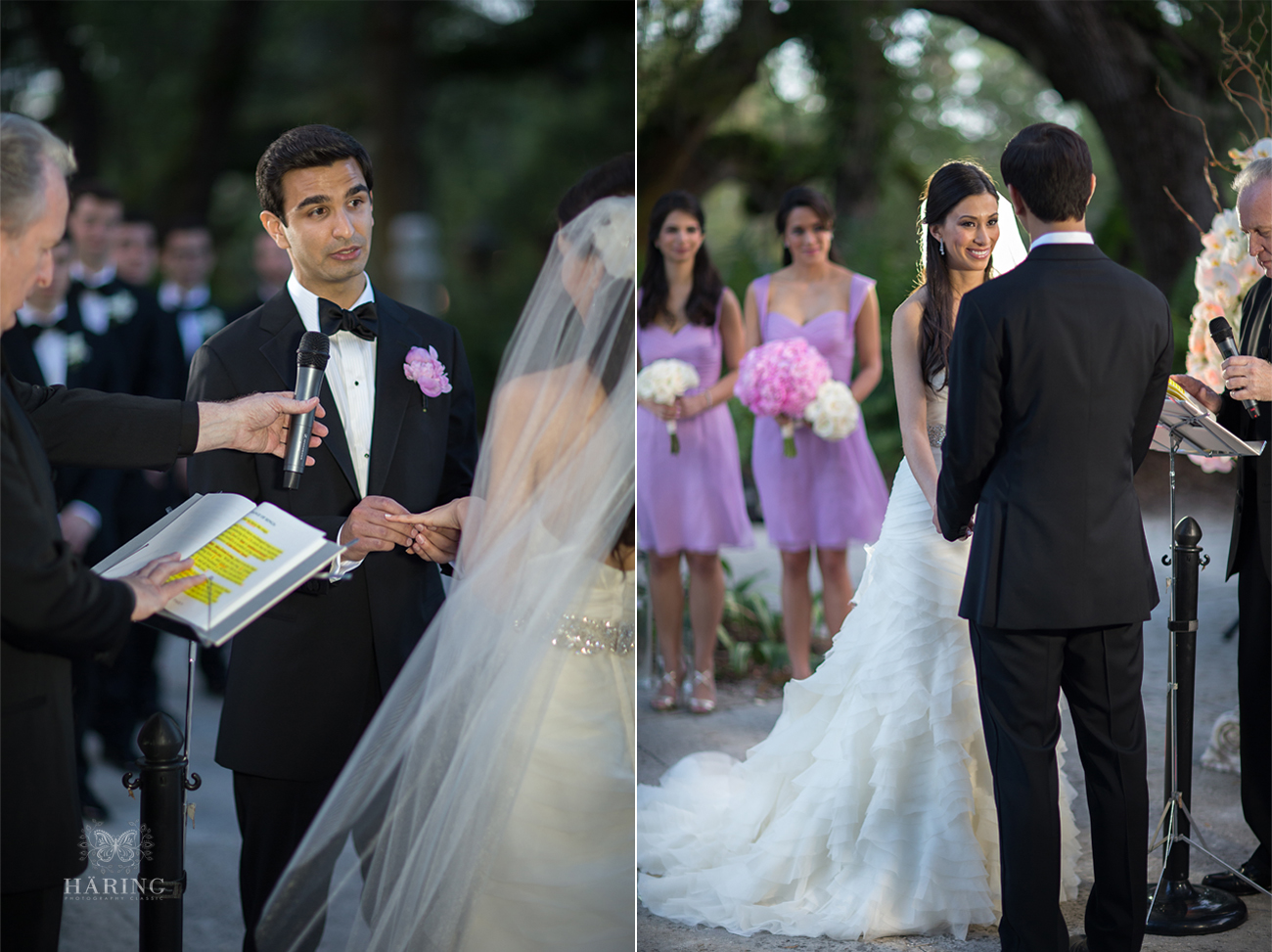 famous weddings in miami