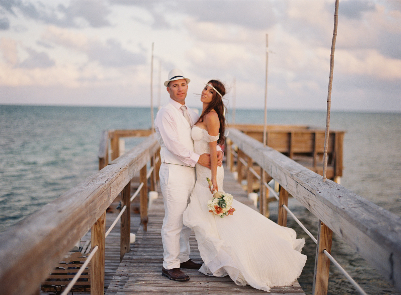 Islamorada film wedding photos