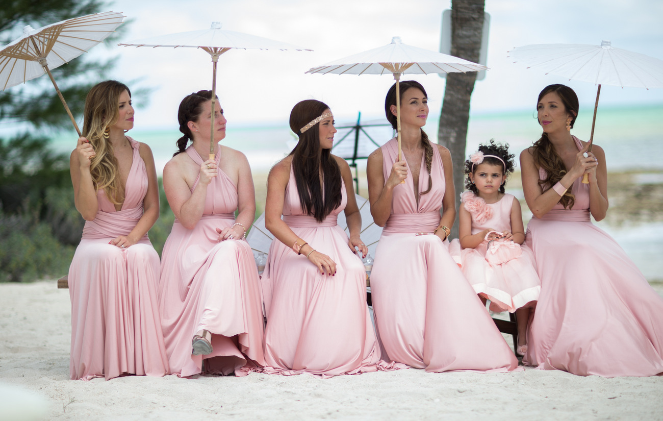 Islamorada wedding bridesmaids