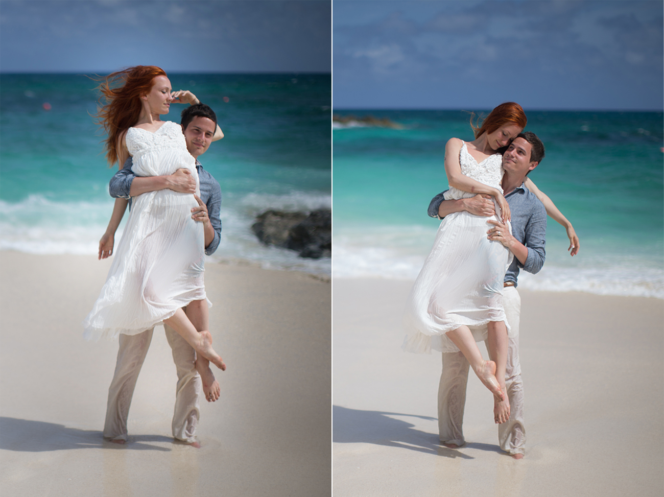 bahamas artistic wedding photos
