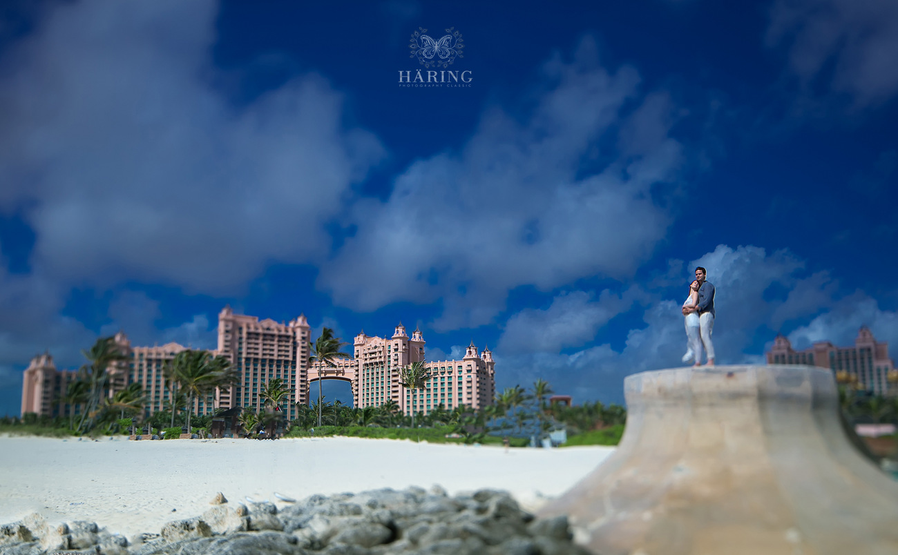 bahamas artistic wedding pictures