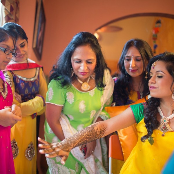 Mehndi Ceremony| Chicago | Akanksha + Riten