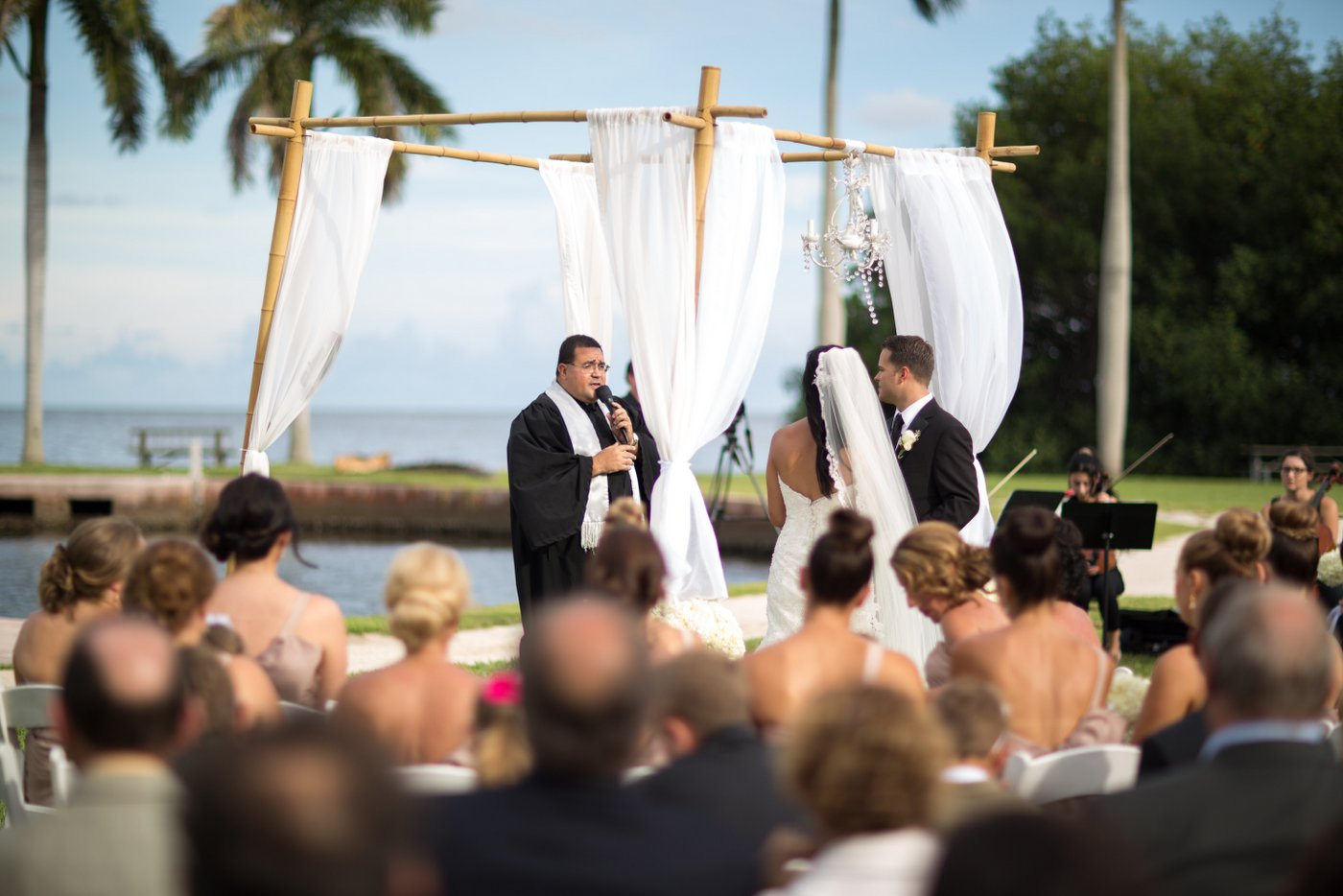 wedding decor deering estate