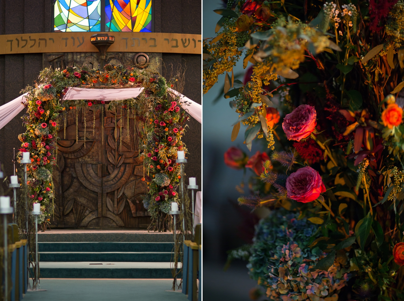 beth torah temple wedding photos