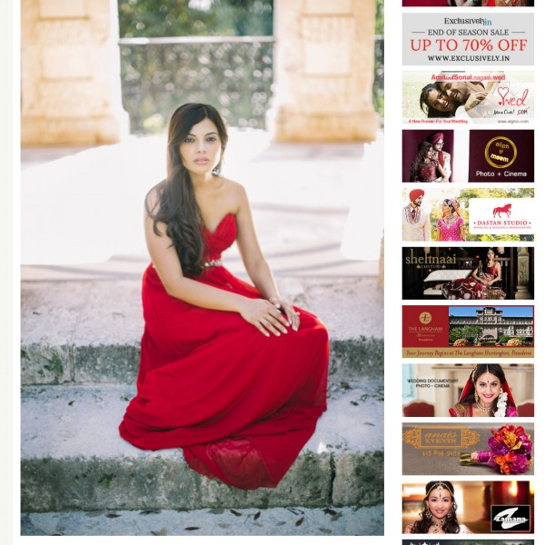Latest Featured Engagement Session - Gauri + Sujal | Vizcaya Gardens, Miami