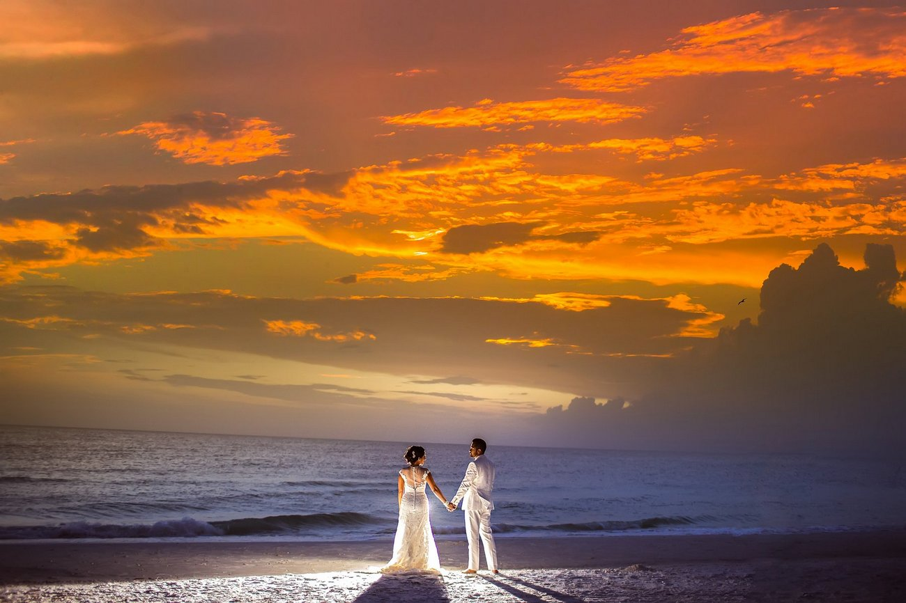 creative artistic wedding photos florida