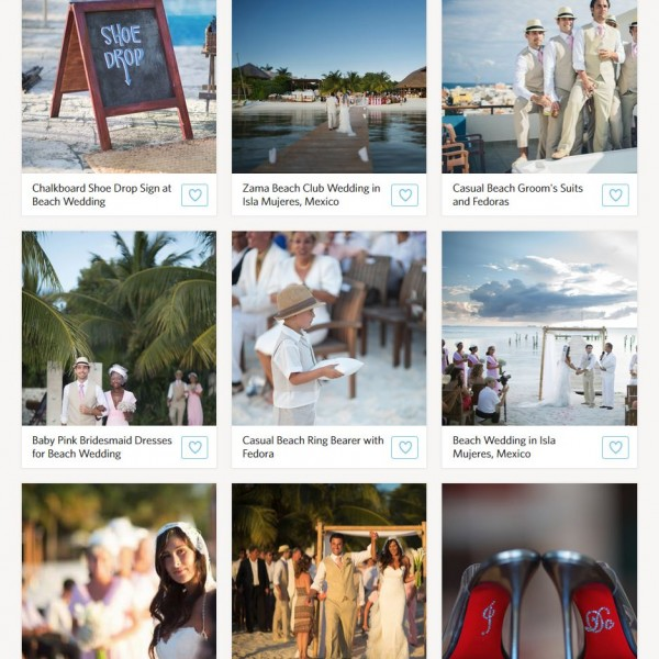 The Knot |A Destination Wedding at Zama Beach Club in Isla Mujeres| Mexico