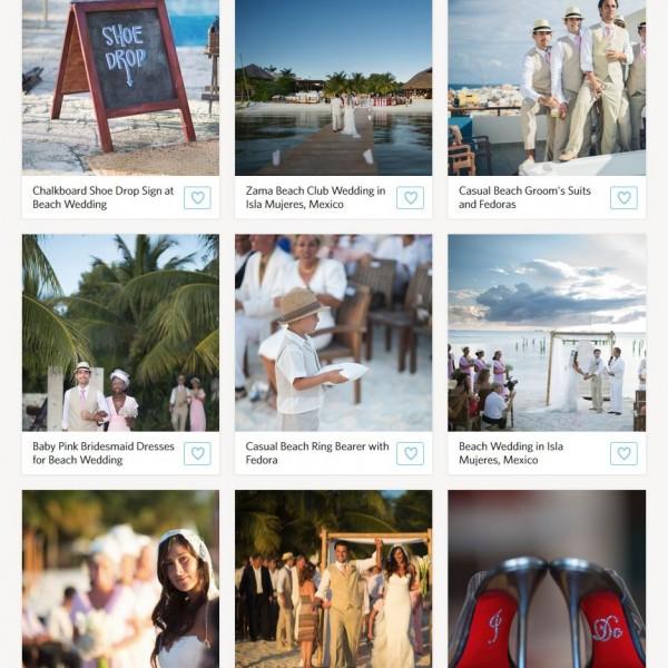The Knot |A Destination Wedding at Zama Beach Club in Isla Mujeres| Mexico