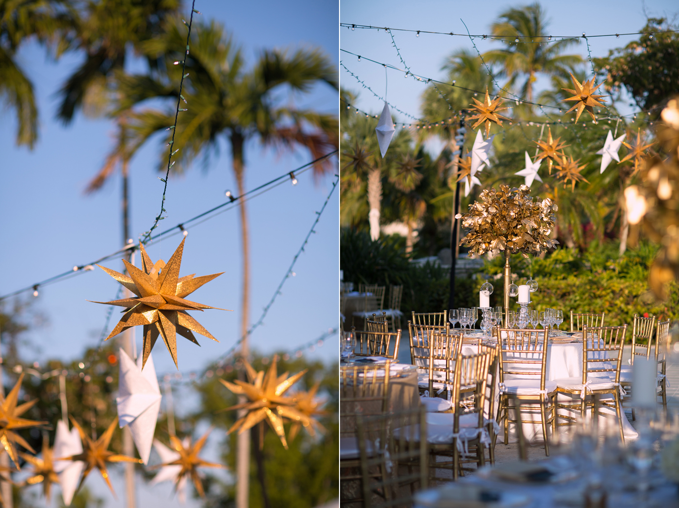 fisher island club wedding decor pictures