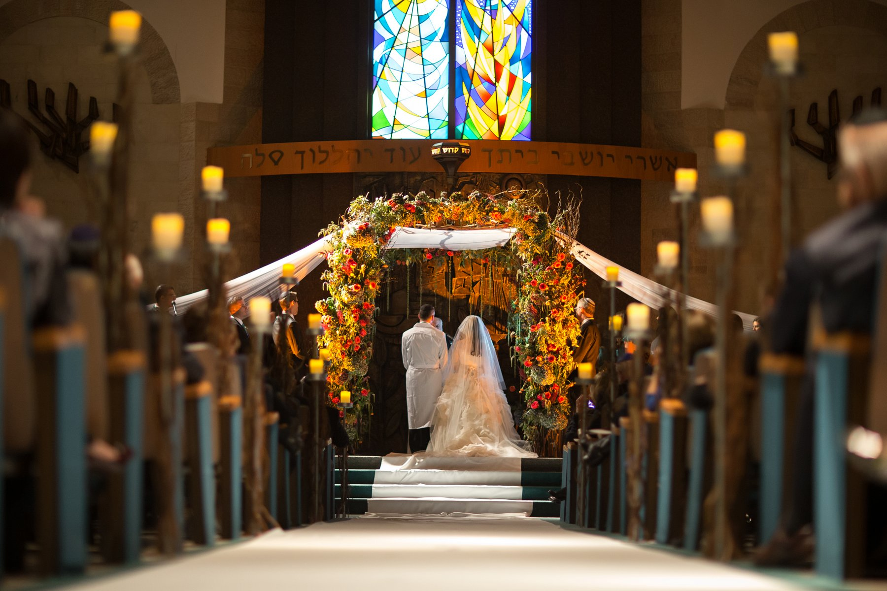 ortodox jewish wedding ceremony photos