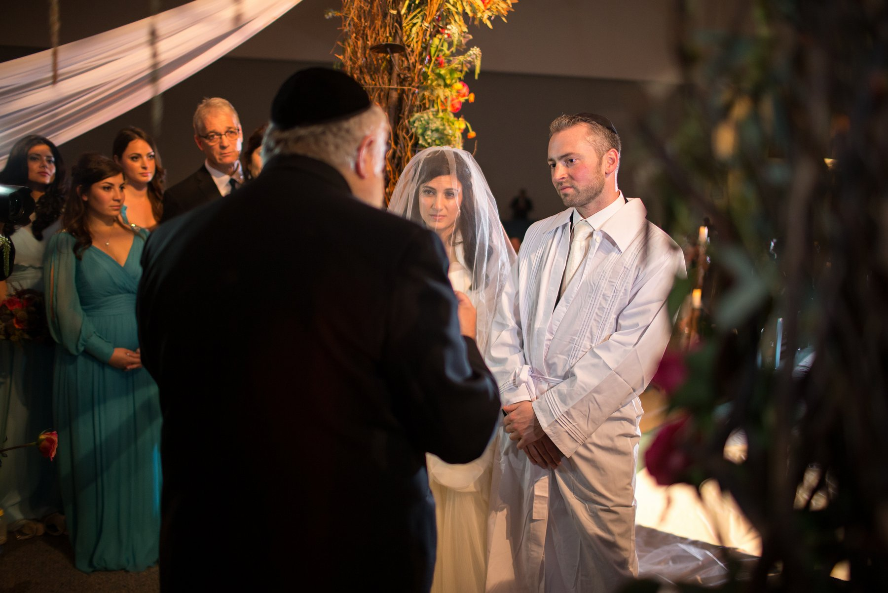 ortodox jewish wedding ceremony photos