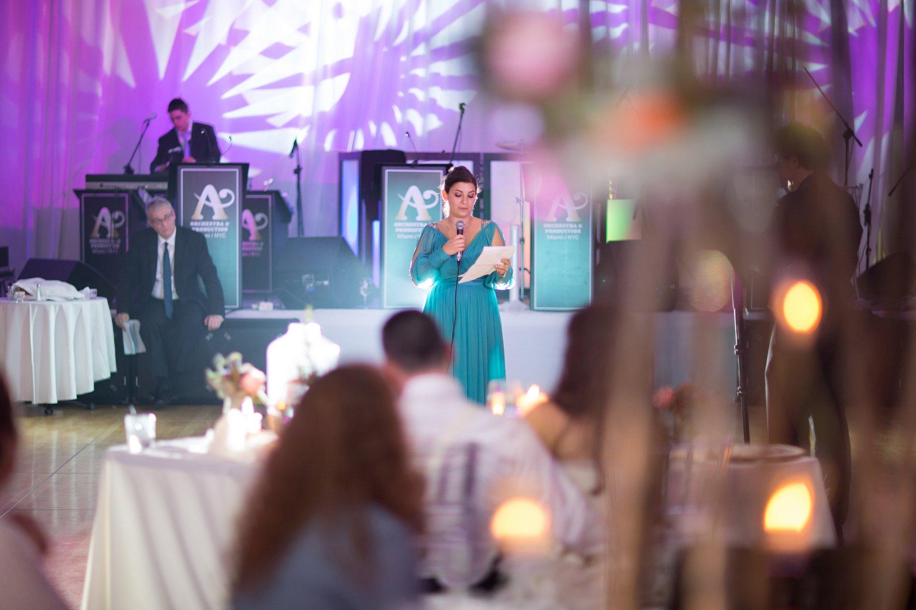 ortodox jewish wedding reception