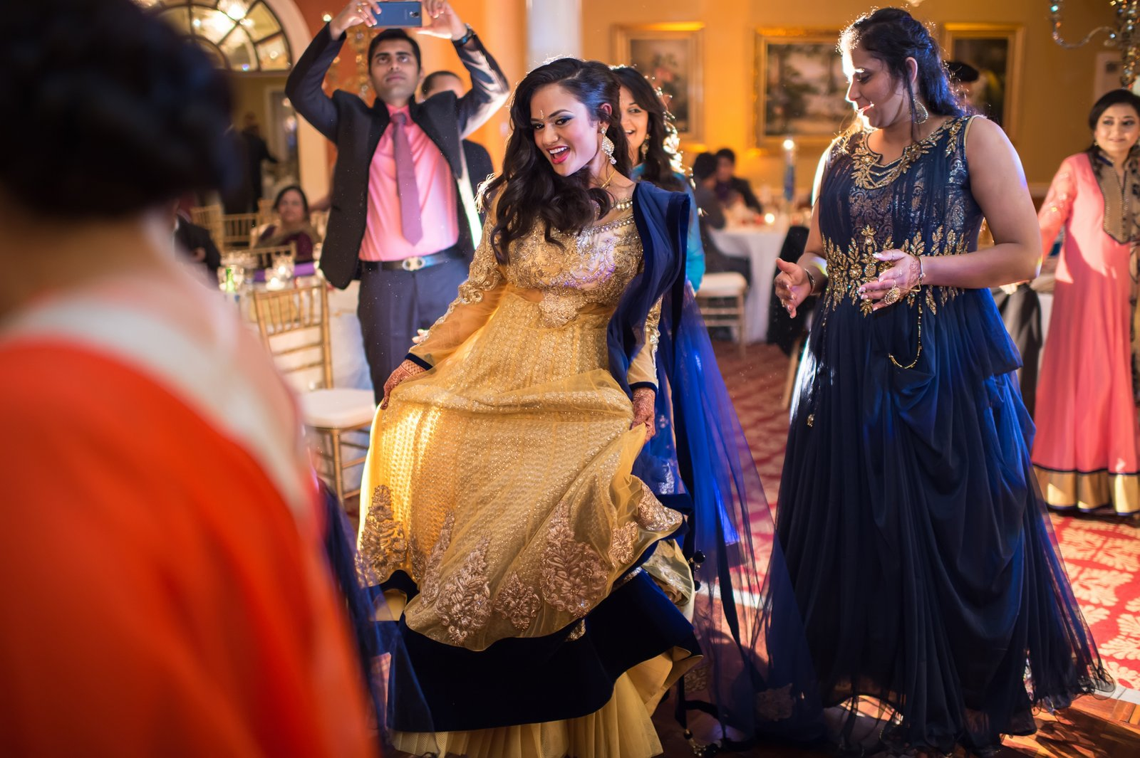 indian wedding party photos