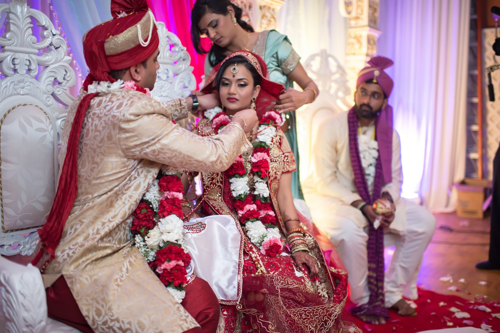 indian wedding ceremony decor pictures