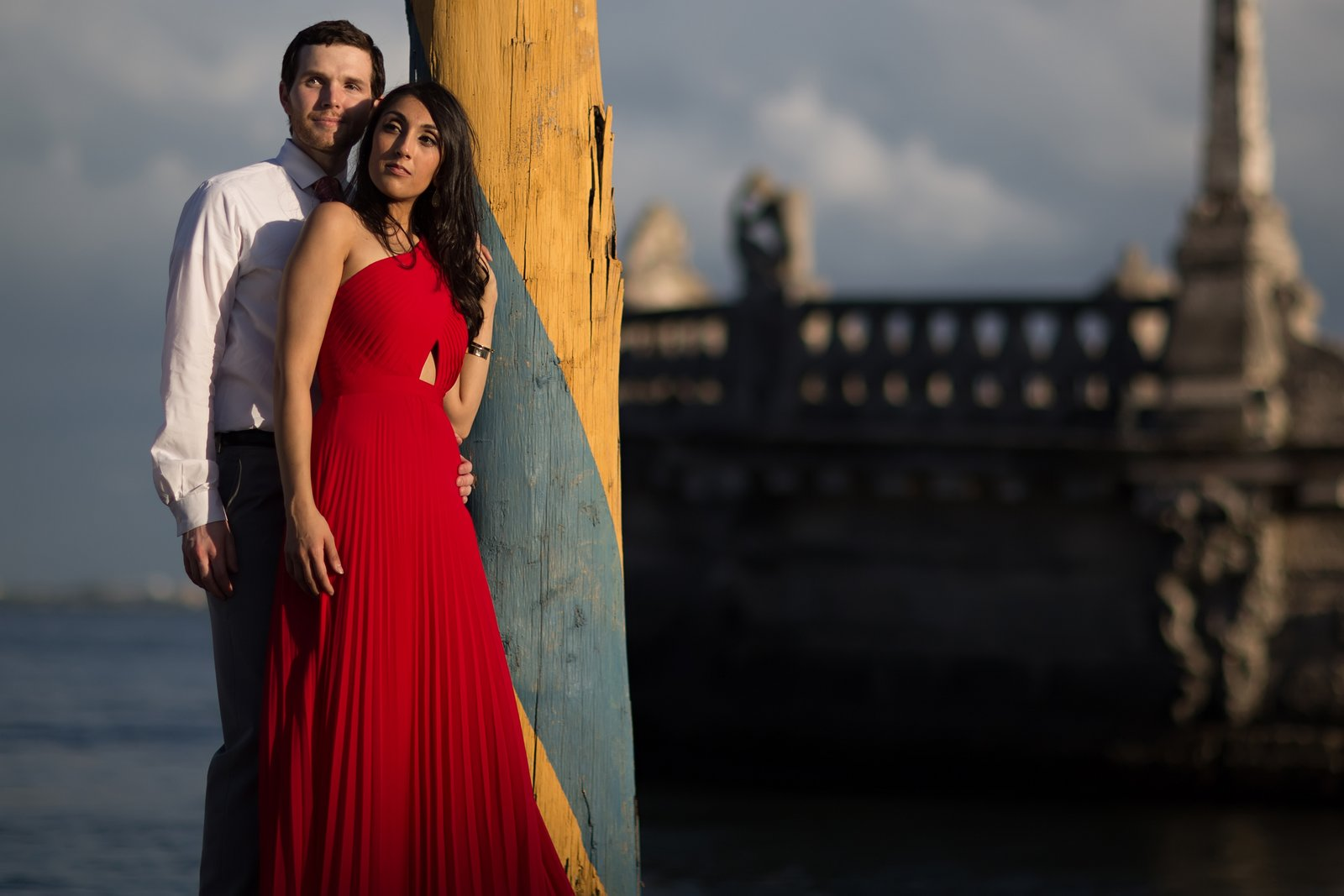 Miami engagement sessions at vizcaya