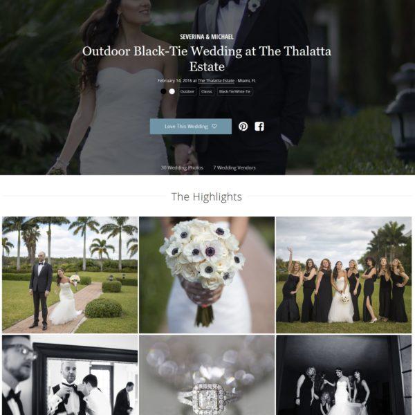 Black - Tie Wedding |Thalatta Estate | Latest Published Wedding in Borrowed and Blue