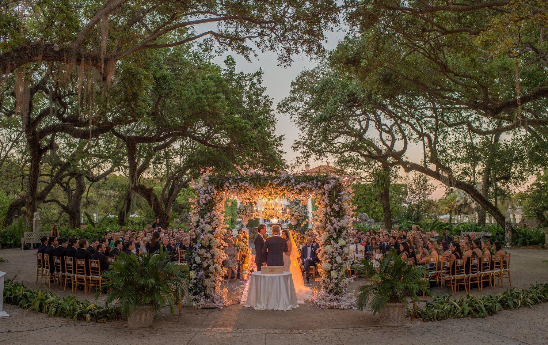 Coley+ Scott   Vizcaya Wedding, Miami - Häring Photography