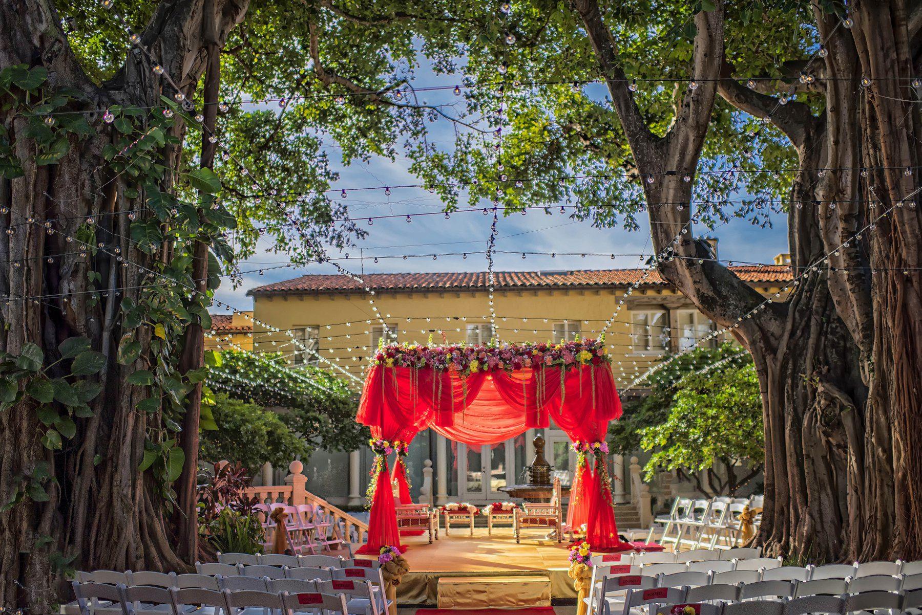Kinjal | Indian Wedding Decoraton | Boca Raton, The Addison
