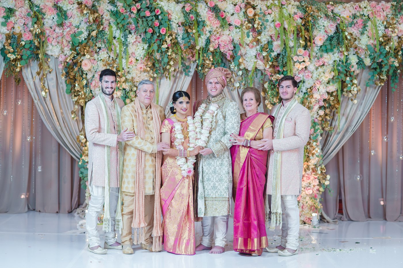 Sample Wedding Day Family Portraits, Miami Wedding Photographers | Häring Photography, Indian Wedding Photographer in Florida, Best Muslim, Hindu - South East Asian Wedding Photographers