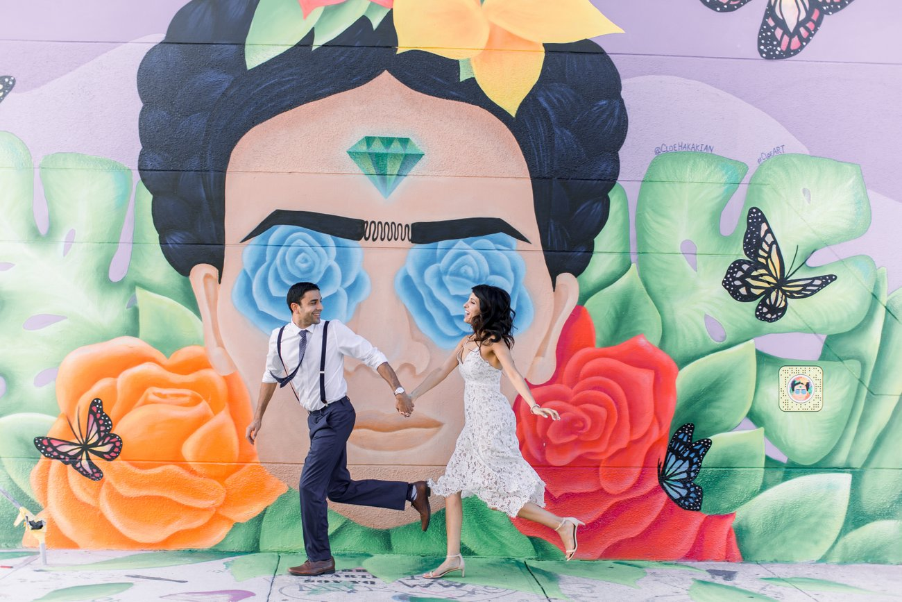 wynwood engagement photography locations in miami florida fort lauderdale