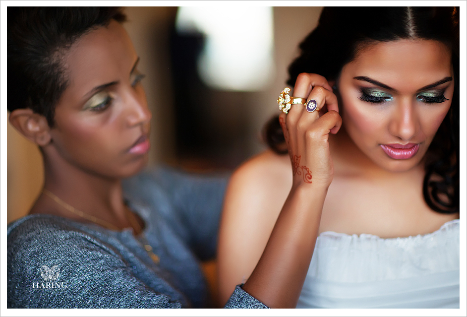 Favorite Photos of the Day – Priyanka Getting Ready, Miami Wedding Photographers | Häring Photography, Indian Wedding Photographer in Florida, Best Muslim, Hindu - South East Asian Wedding Photographers