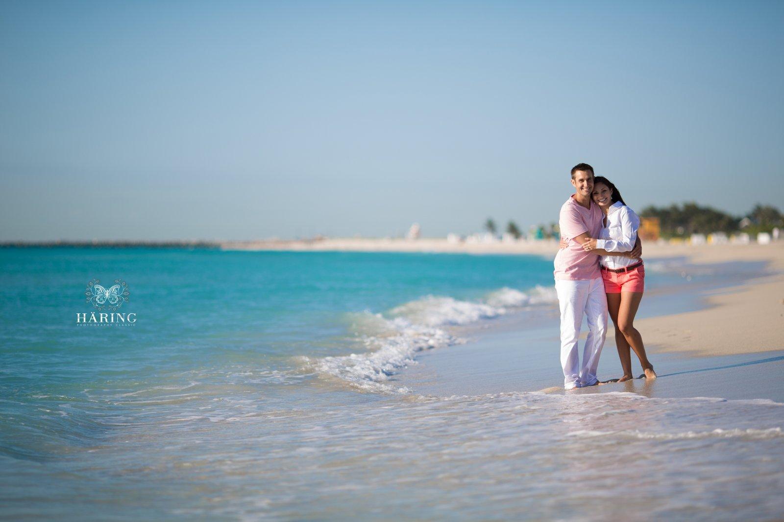 Jennifer + Sam | Miami Beach Engagement Session, Miami Wedding Photographers | Häring Photography, Indian Wedding Photographer in Florida, Best Muslim, Hindu - South East Asian Wedding Photographers