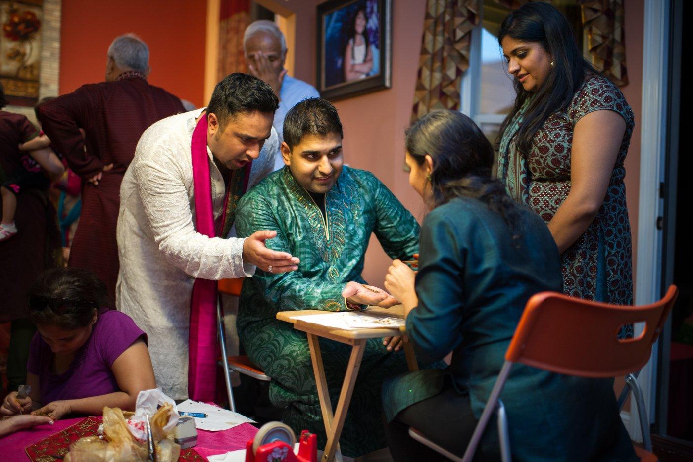 Mehndi Ceremony| Chicago | Akanksha + Riten, Miami Wedding Photographers | Häring Photography, Indian Wedding Photographer in Florida, Best Muslim, Hindu - South East Asian Wedding Photographers