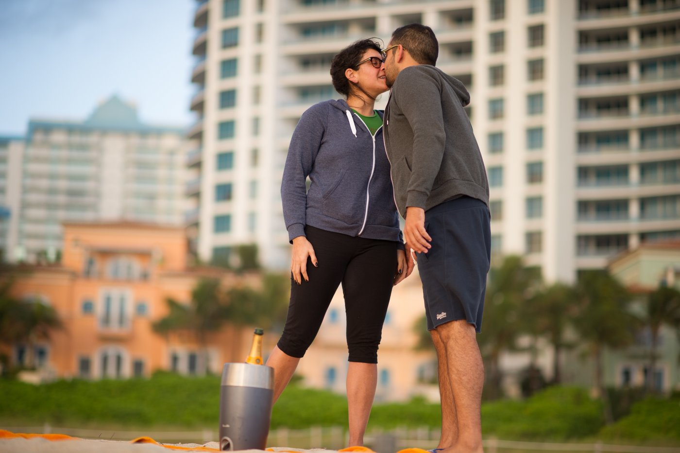 Surprise Engagement Proposal on Miami Beach | Miami, Florida, Miami Wedding Photographers | Häring Photography, Indian Wedding Photographer in Florida, Best Muslim, Hindu - South East Asian Wedding Photographers