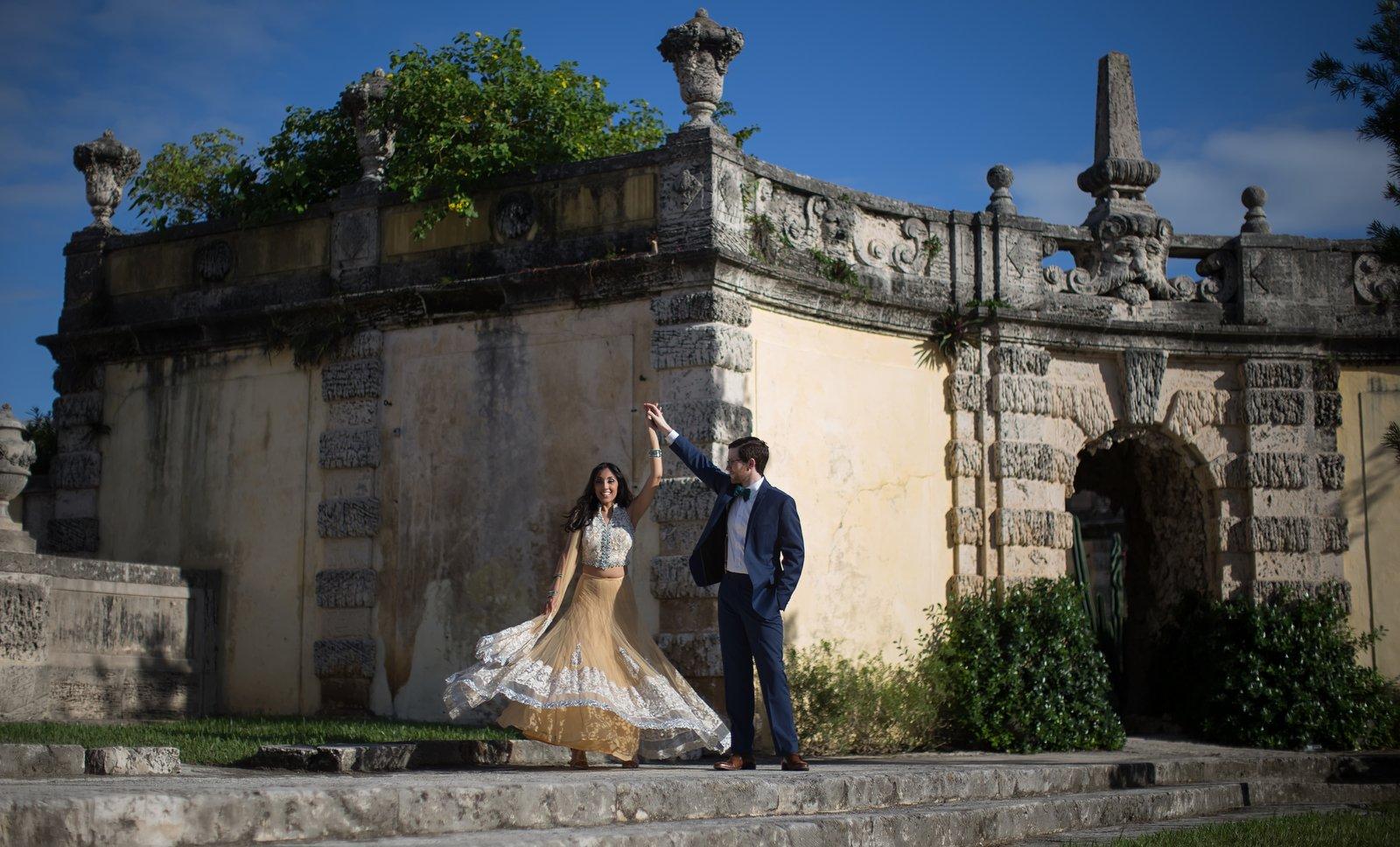Ketki | Vizcaya Engagement Session, Miami, Miami Wedding Photographers | Häring Photography, Indian Wedding Photographer in Florida, Best Muslim, Hindu - South East Asian Wedding Photographers